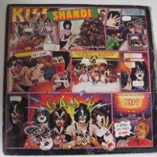 Discos de vinilo: KISS - SHANDI - RARO SINGLE ESPAÑOL 1980 EXCELENTE ESTADO. Lote 29964190