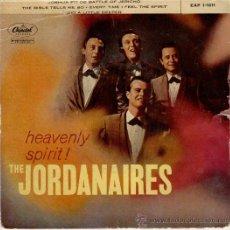 Discos de vinilo: THE JORDANAIRES - JOSHUA FIT DE BATTLE OF JERICHO +3 EP CAPITOL SPAIN - VG / VG++. Lote 29965836