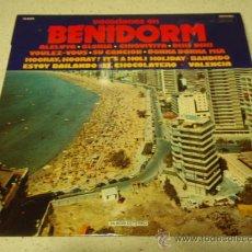 Discos de vinilo: 'VACACIONES EN BENIDORM' 1979 - ESPAÑA LP33 DIAL DISCOS. Lote 29969402