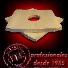 100 FUNDAS INTERIORES DE PAPEL PARA VINILOS LP Y MAXI - NUEVAS -