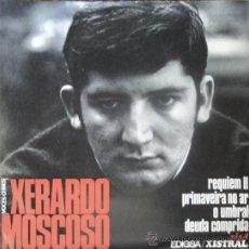Discos de vinilo: XERARDO MOSCOSO, EDICION DE 1968 DE ESPAÑA, E.P. Lote 29973828