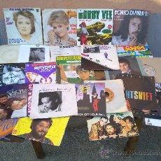 Discos de vinilo: LOTE DE 25 DISCOS SINGLES DE VINILO.. Lote 29974508