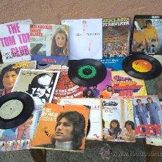 Discos de vinilo: LOTE DE 25 DISCOS SINGLES DE VINILO.. Lote 29974547