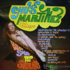 Discos de vinilo: CHUS MARTINEZ Y SU CONJUNTO 'BEAT SOUL POP SUPER HITS' LP EKIPO 69 TEMAS BEATLES. Lote 29977860