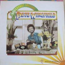 Discos de vinilo: LP - PETE WINGFIELD - BREAKFAST SPECIAL - ORIGINAL INGLES, ISLAND RECORDS 1975. Lote 29980207