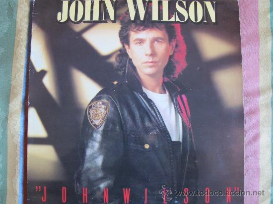 LP - JOHN WILSON - MISMO TITULO - ORIGINAL ESPAÑOL, LEGACY RECORDS 1987 (Música - Discos - LP Vinilo - Heavy - Metal)