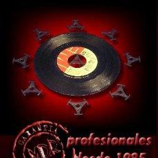 Discos de vinilo: LOTE 25 ADAPTADORES PARA DISCOS DE VINILO SINGLES 7 Y EP. Lote 196452030