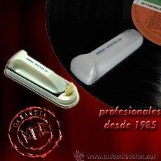 Discos de vinilo: CEPILLO NAGAOKA CL-116 PARA DISCOS DE VINILO Y DISCOS DE GRAMÓFONO -IMPORTADO DE JAPÓN- NUEVO. Lote 55553717