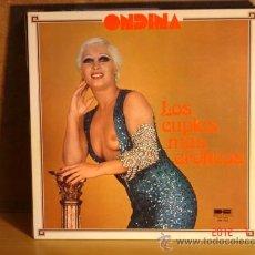 Discos de vinilo: ONDINA - LOS CUPLÉS MÁS ERÓTICOS - BELTER DBL-052 - 1977 - PORTADA EROTICA / EROTIC COVER. Lote 29994200