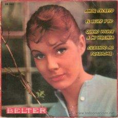 Discos de vinilo: TOOTS THIELEMANS CON REINHOLD SVENSSON - QUIERO VOLVER A VIRGINIA + 3 (EP DE 4 CANCIONES)BELTER 1960. Lote 29998506