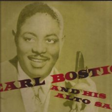 Discos de vinilo: LP-25 CTMS-EARL BOSTIC AND HIS ALTO SAX-ODEON 1007-EDIC.ESPAÑOLA-195???-. Lote 30004201