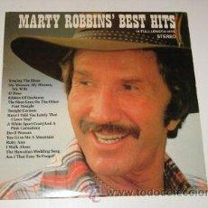 Discos de vinilo: MARTY ROBBINS' BEST HITS (14 SONGS) LP CBS CSP USA EN . Lote 30014388