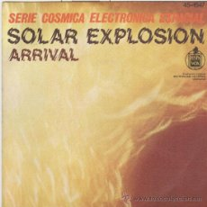 Disques de vinyle: SERIE COSMICA ELECTRONICA ESPACIAL. SOLAR EXPLOSION. HISPAVOX 1977. PERFECTO ESTADO. Lote 42437993