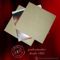 Discos de vinilo: 50 CARTONES PROTECTORES PARA ENVIAR DISCOS DE VINILO LP DENTRO DE LAS CAJAS DE ENVÍO DE CARTON. Lote 214325342