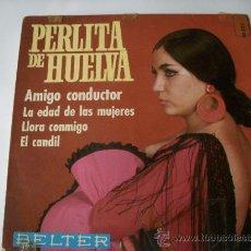 Discos de vinilo: PERLITA DE HUELVA. Lote 30036614