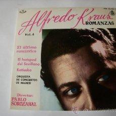 Discos de vinilo: ALFREDO KRAUS. Lote 156285242