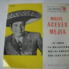 Discos de vinilo: MIGUEL ACEVES MEJIA. Lote 30036914