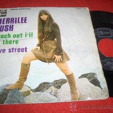 Discos de vinilo: MERRILEE RUSH REACH OUT I'LL BE THERE / LOVE STREET 7 SINGLE 1969 EMI STATESIDE EDICION SPAIN. Lote 30042613