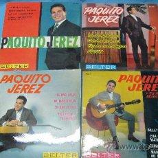 Discos de vinilo: LOTE SINGLES EP PAQUITO JEREZ. Lote 30045799