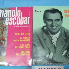 Discos de vinilo: LOTE SINGLE EP MANOLO ESCOBAR. Lote 30074456