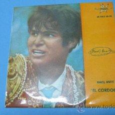 Discos de vinilo: EP SINGLE MANUEL BENITEZ EL CORDOBES, SOUVENIRT OF SPAIN. Lote 30075111