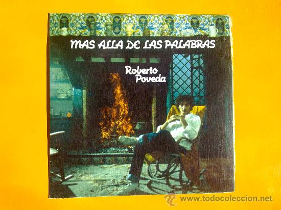 MAS ALLA DE LAS PALABRAS, ROBERTO POVEDA, SINGLE COMO NUEVO (Música - Discos - Singles Vinilo - Solistas Españoles de los 50 y 60)