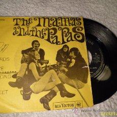 Discos de vinilo: THE MAMAS AND THE PAPAS - WORDS OF LOVE. Lote 30177505