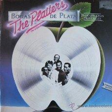 Discos de vinilo: LP - THE PLATTERS - BODAS DE PLATA - EDICION ESPAÑOLA, MERCURY RECORDS 1981. Lote 30086908