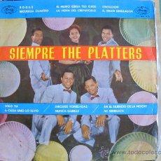 Discos de vinilo: LP - THE PLATTERS - SIEMPRE THE PLATTERS - ORIGINAL ESPAÑOL, MERCURY RECORDS 1962. Lote 30089110