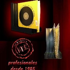 Discos de vinilo - 2 ANGULOS SOPORTE PARA 80 DISCOS DE VINILO LP Y DISCOS DE GRAMÓFONO - NUEVOS - - 93638133