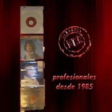 Discos de vinilo: DISPLAY EXPOSITOR PARA 5 DISCOS DE VINILO SINGLE 7 Y EP. Lote 289297413
