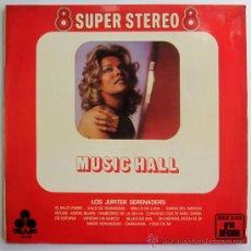 Discos de vinilo: LOS JUPITER SERENADES - MUSIC HALL - LP SPAIN 1970 - TREBOL 20.018. Lote 30096765