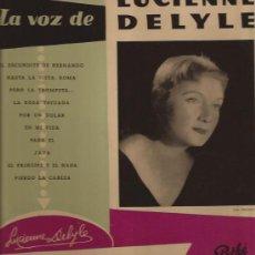 Discos de vinilo: LP-25 CTMS-LUCIENNE DELYLE-PATHE 1007-EDIC. ESPAÑOLA-. Lote 30098814
