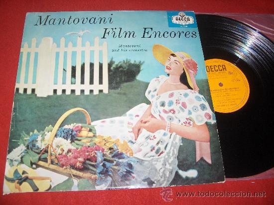 MANTOVANI ORQUESTA FILM ENCORES EXITOS MUSICALES PELICULAS LP 1960 DECCA EDICION ESPAÑOLA SPAIN (Música - Discos - LP Vinilo - Orquestas)