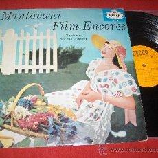 Discos de vinilo: MANTOVANI ORQUESTA FILM ENCORES EXITOS MUSICALES PELICULAS LP 1960 DECCA EDICION ESPAÑOLA SPAIN. Lote 30135840