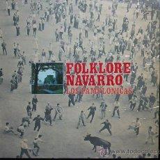 Discos de vinilo: FOLKLORE NAVARRO - LOS PAMPLONICAS. Lote 30114008
