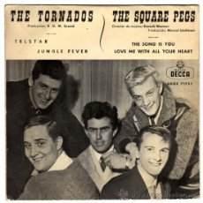 Discos de vinilo: THE TORNADOS + THE SQUARE PEGS - TELSTAR / THE SONG IS YOU - EP SPAIN 1962 - DECCA EDGE 71751. Lote 30117725