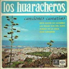 Discos de vinilo: LOS HUARACHEROS EP SELLO EMI-REGAL AÑO 1966 EDITADO EN ESPAÑA . Lote 30117924