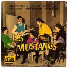 Discos de vinilo: LOS MUSTANGS (LOS MUSTANG) - NO LO VES - EP SPAIN 1962 - REGAL SEDL 19.302. Lote 30117934