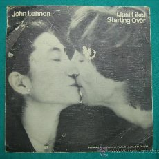 Discos de vinilo: SINGELS JOHN LENNON Y YOKO ONO AÑO 1980. Lote 30144763
