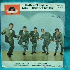 Discos de vinilo: SINGELS LOS ESPAÑOLES AÑO 1962. Lote 30145246