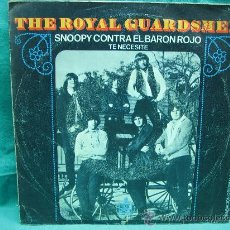 Discos de vinilo: SINGELS THE ROYAL GUARDSMEN AÑO 1967. Lote 30147244