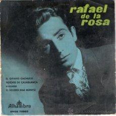 Vinyl records - RAFAEL DE LA ROSA - EL GITANO CACHUCO + 3 (EP DE 4 CANCIONES) ALHAMBRA 1959 - VG++/VG++ - 30121323