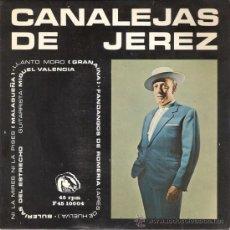Discos de vinilo: CANALEJAS DE JEREZ - NI LA MIRES NI LA PISES + 3 (EPDE 4 CANCIONES) FIDIAS - EX/VG++. Lote 30121385