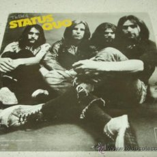 Discos de vinilo: STATUS QUO ' THE BEST OF STATUS QUO ' ENGLAND-1970/1971 LP33 PYE RECORDS. Lote 30129743