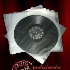 Discos de vinilo: 100 FUNDAS INTERIORES ANTIESTATICAS PARA DISCOS DE VINILO LP Y MAXI-SINGLE -NUEVAS-. Lote 175950430