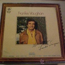Discos de vinilo: FRANKIE VAUGHAN, SINCERELY YOURS, LP BELTER SPAIN 1975, NUEVO. Lote 30150013