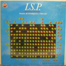 Discos de vinilo: I.S.P. - PROCESO DE INVESTIGACION Y SELECCION (LP 1984) JAZZ ROCK. Lote 30154325