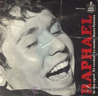 RAPHAEL (YO SOY AQUEL) EUROVISIÓN 1966 (Música - Discos de Vinilo - EPs - Solistas Españoles de los 50 y 60)