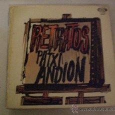 Discos de vinilo: PATXI ANDION. RETRATOS. LP MOVIEPLAY 1969 PORTADA DOBLE, VER FOTO. Lote 30155697